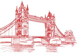 The bridge of London