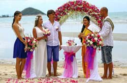 Marring in Thailand